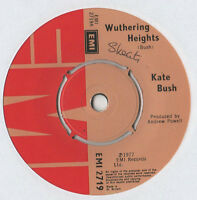 """Kate Bush - Wuthering Heights 7"""" Single 1977"""