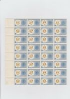 VINTAGE WORLD UNITED AGAINST MALARIA 4 CENT  USA STAMPS POSTAGES SHEET OF 32