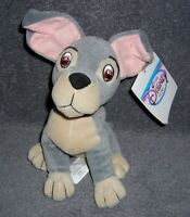 """DISNEY STORE EXCLUSIVE LADY AND THE TRAMP 8"""" BEAN BAG PLUSH TOY"""