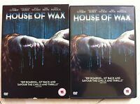 Elisha Cuthbert Paris Hilton HOUSE OF WAX | 2005 Horror Remake DVD w/ slipcover