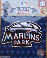 MLB Baseball Patch Miami Marlins Park Inaugural 2012 Road Away Sleeve Licensed