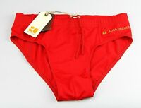 Hugo Boss ORANGE Swim Trunks Shorts Brief Authentic New Red JAVA OM stretch Sz M
