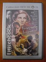 Inocencia y juventud (Young and Innocent) 1937 [DVD] Alfred Hitchcock ¡¡NUEVO!!