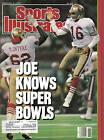 1990 (2/5), Sports Illustrated,football,magazine,Joe Montana,San Francisco 49ers