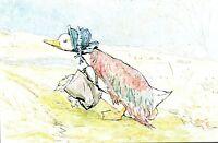 (09079) Postcard - Beatrix Potter - Jemima Puddle-Duck - unposted