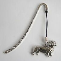 Dachshund Dog Lovers Bookmark in Fine English Pewter, Gift Boxed (ts)