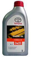Genuine 1 Litre Toyota 0W20 Formula Xs Motor Oil