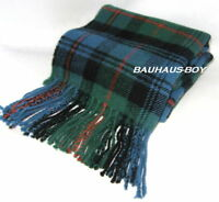 SCOTTISH CLAN NECK SCARF ANCIENT MURRAY OF ATHOLL TARTAN PURE NEW WOOL FOR KILTS