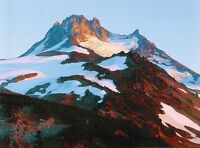 (10145) Postcard - Cascades Volcanoes - Mount Jefferson, Oregon