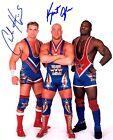 Team Angle Signed Autograph WWE 8x10 Photo