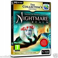 Nightmare Realm Collector's Edition Game For PC (CD-ROM) NEW & SEALED