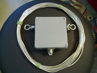 HF Ham radio SkyLoop antenna  10 meter and  2.5 to 1 Talented Balun hang-n-go