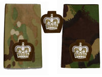 New British Army Welsh Guards Officers Major Crown ( used on DPM + MTP Multicam