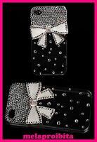 SEXY COVER CUSTODIA TELEFONO SMARTPHONE CELLULARE APPLE iPhone 4 4S STRASS SEXI