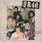 "45 TOURS / 7"" SINGLE--UB40 / UB 40--I GOT YOU BABE--1985"