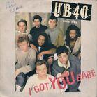 """45 TOURS / 7"""" SINGLE--UB40 / UB 40--I GOT YOU BABE--1985"""