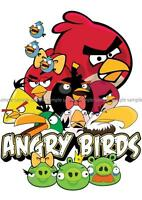ANGRY BIRDS POSTER PICTURE WALL ART PRINT A3 AMK2292