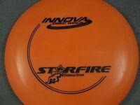 NEW 170 ORANGE / BLACK DX STARFIRE INNOVA DISC GOLF
