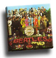Beatles - Sgt Peppers Lonely Hearts Club Band Giclee Canvas Album Cover Picture