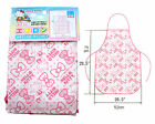2 pcs New SANRIO HELLO KITTY Poly Apron for kitchen cooking art craft painting