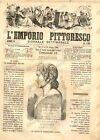 1868 L'EMPORIO PITTORESCO Georges CLAIRIN Bruciatrici d'alghe Rivista ILLUSTRATA