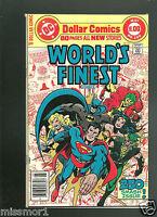 World's Finest Superman Batman 250 comic Bronze Age 1970's VF