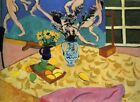 HENRI MATISSE - Still Life with Dance 1909 - QUALITY CANVAS PRINT - A2 size