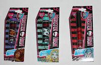 Monster High Girls Lip Gloss .04 oz Or Lip Balm .15 oz NIP several flavors