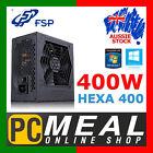 FSP HEXA 400 400W PSU Power Supply Unit ATX Quiet Gaming Intel AMD 120mm Silent