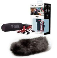 RODE VideoMic Shotgun mic with Black Deadcat