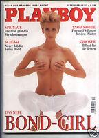 1 - PLAYBOY D 12/1997 Dezember - Bond-Girl Daphne Deckers + Pirelli-Models