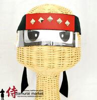 Ninja Black Studded Headband#1!