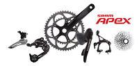 SRAM Apex 10 Speed Road Bike Groupset - Black