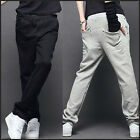 Mens Casual Tracksuit bottoms Sport Rope Sweat Pants Trousers Jogging MKX048