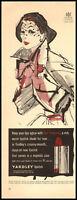 1951 vintage ad for Yardley Lipstick -738