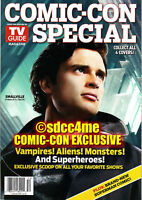 SDCC Exclusive TV GUIDE Special Magazine Smallville Tom Welling True Blood