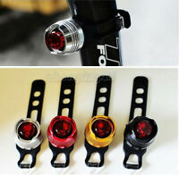 New Bike Bicycle Red LED Rear Light 3 modes Waterproof Tail Lamp Quick Release