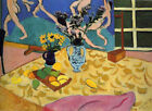 HENRI MATISSE - Still Life with Dance 1909 - QUALITY CANVAS PRINT 30x20cm