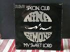 """MAXI 12"""" Promo NINA SIMONE My sweet lord ( GEORGE HARRISON ) rca pr005"""