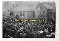 rp7748 - Funeral , York Avenue East Cowes - Isle of Wight  - photo 6x4