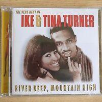 NEW SEALED - THE BEST OF IKE & TINA TURNER - Pop Music Soul R&B CD Album