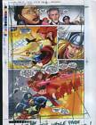 Buscema Avengers Marvel Comics proof art page:Captain America/Thor/Silver Surfer