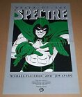 Original 1987 DC Comics The Spectre comic book art promo poster 1:1980's/JLA/JSA