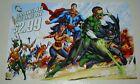 JLA poster 1: Batman/Wonder Woman/Superman/Green Lantern/Aquaman/Flash/DC Comics