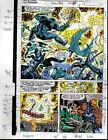 1991 Avengers 329 page 27 Marvel Comics color guide art: Spider-man/Iron Man