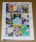 1986 JLA 260 page 13 DC Comics color guide art: 1980's Justice League of America