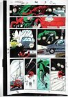 Original 1992 Daredevil 302 page 13 Marvel Comics color guide art: Owl/1990's