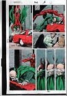 1992 Daredevil 302 page 6 Marvel Comics comic book color guide art: 1990's Owl