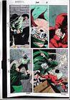 1992 Marvel Comics Daredevil 302 page 3 color guide production artwork: 1990's