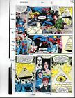 1991 Avengers Marvel color guide art: She-Hulk/Black Widow/Thor/Captain America